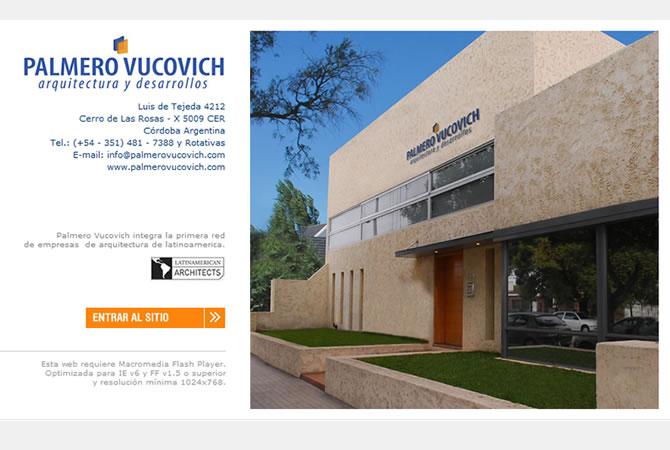 Diseño de sitio web, página principal.