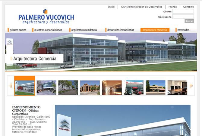 Diseño de sitio web, página secundaria.