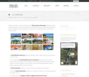 Link de El Complejo. Descripción del mismo con fotografías ilustrativas.
